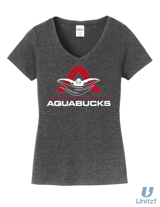 CV Aquabucks Ladies V-Neck
