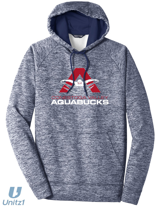 CV Aquabucks Electric Heather Pullover