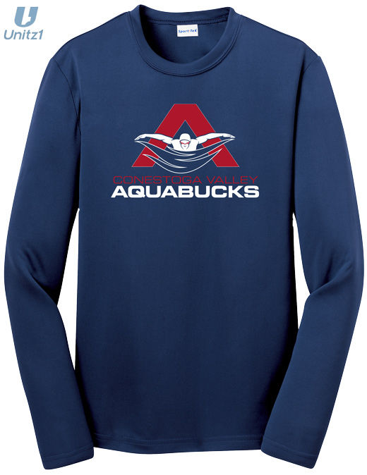 CV Aquabucks Wicking Long Sleeve T-shirt