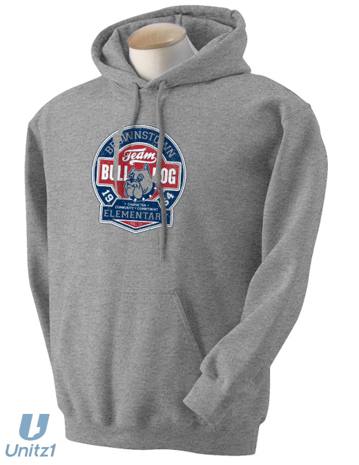Team Bulldog Hooded Sweatshirt