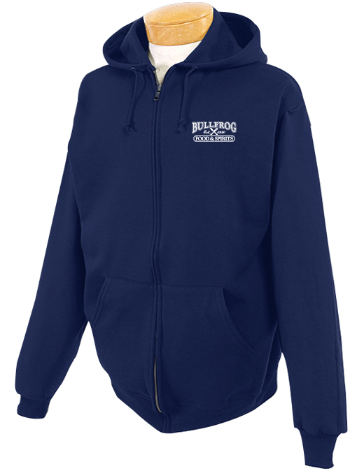 Bullfrog Full Zip Hooded Sweatshirt