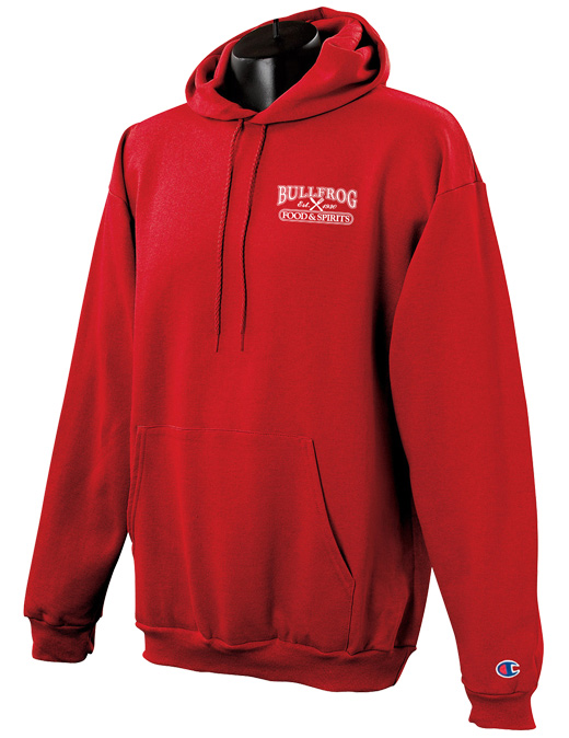 Bullfrog 9 oz. Hooded Sweatshirt