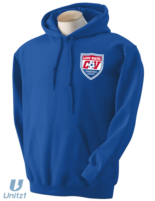 Lady Bucks Soccer Hooded Sweatshirt