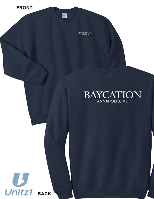 Baycation Crewneck Sweatshirt