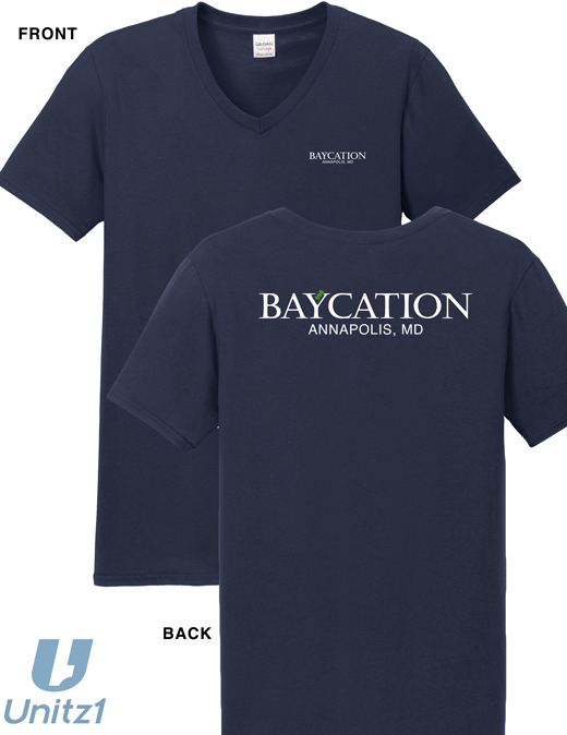 Baycation V-Neck T-Shirt