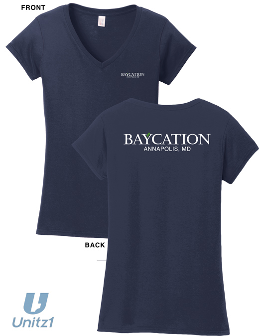 Baycation Ladies V-Neck
