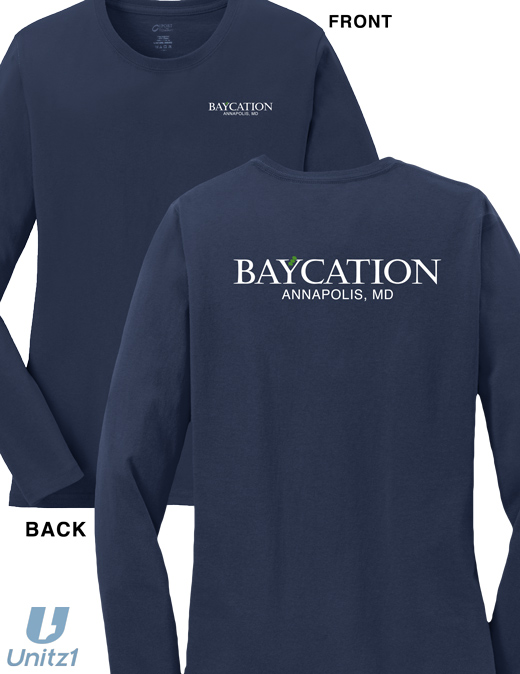 Baycation Ladies Long Sleeve