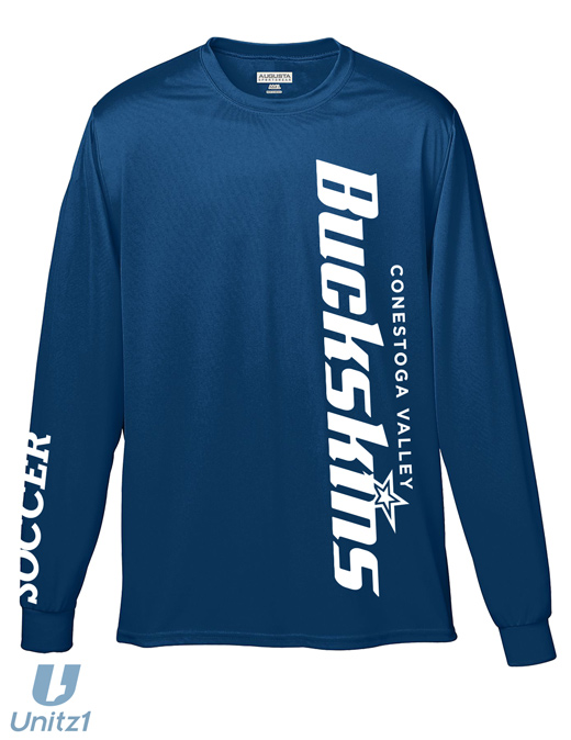 Buckskins Soccer Wicking Long Sleeve T-shirt