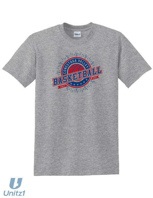 CV Basketball 2017 T-Shirt