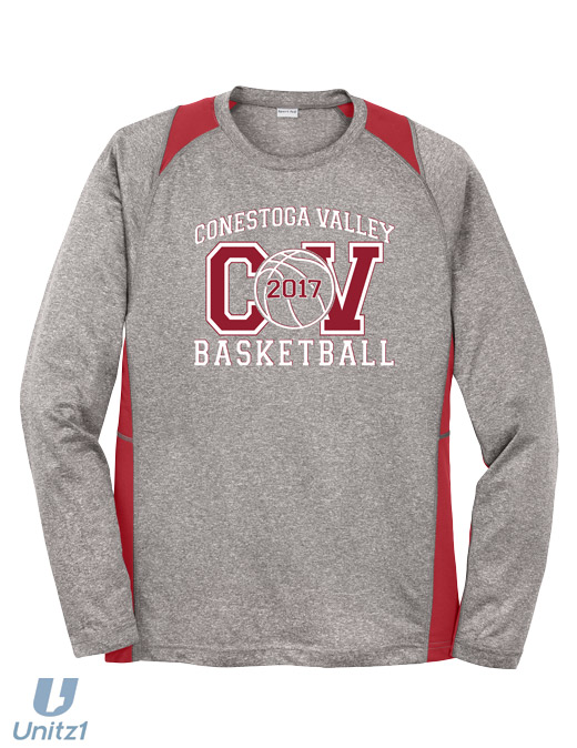 CV Basketball Coaches' Long Sleeve