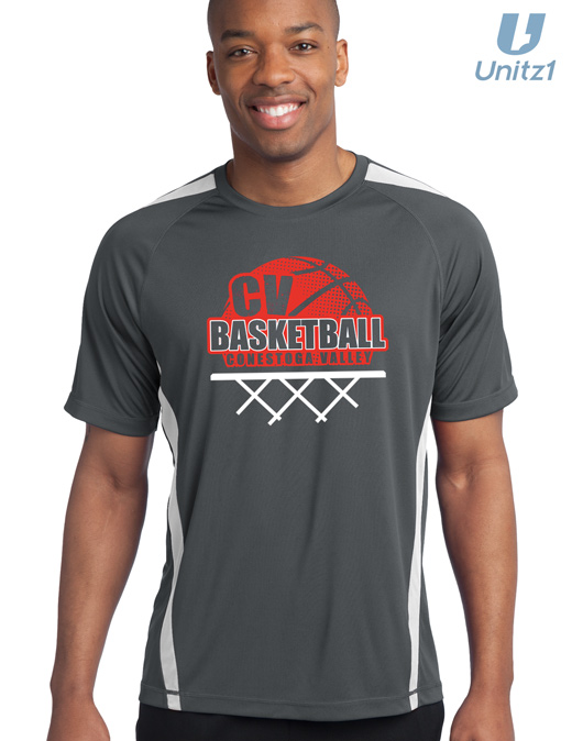 CV Basketball Colorblock Tee