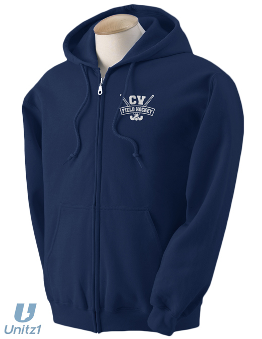 CVFH Crossed Full Zip Hoodie