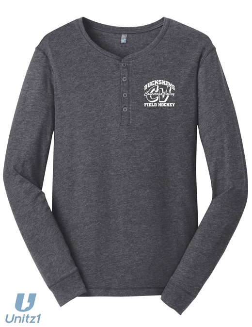 CVFH Retro Long Sleeve Henley