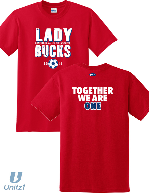 CV Girls Soccer Player's T-shirt