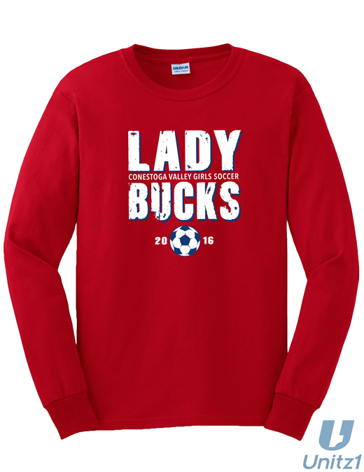 CV Girls Soccer Long Sleeve T-shirt