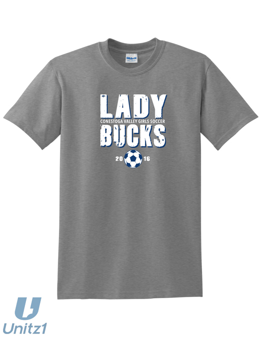 CV Girls Soccer T-shirt
