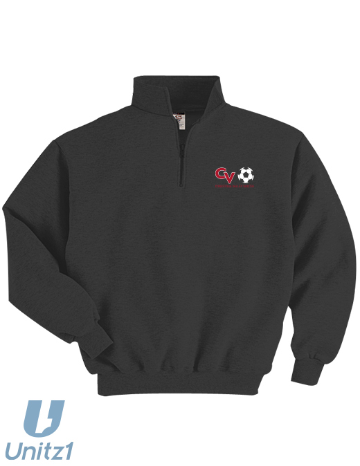 CV Girls Soccer Quarter-Zip Pullover