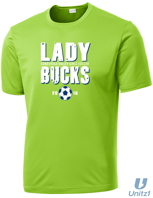 CV Girls Soccer Wicking T-Shirt