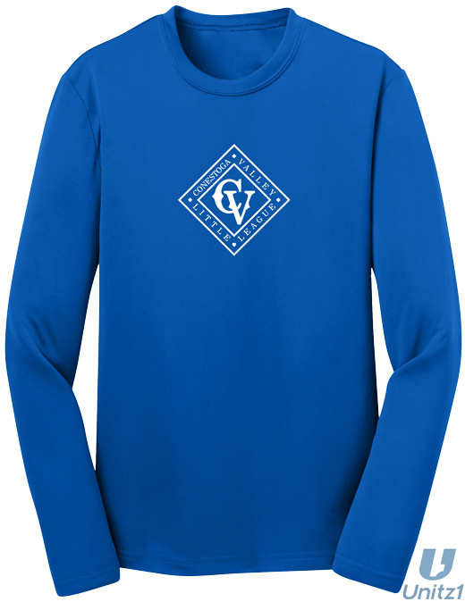 CVLL Diamond Wicking Long Sleeve