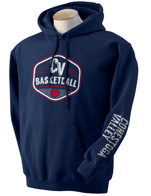 2014 CV Basketball Hooded Sweatshirt