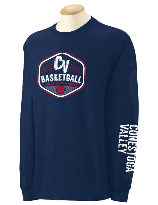 2014 CV Basketball Long Sleeve T-shirt
