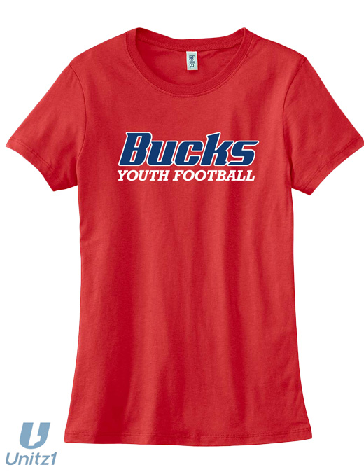 CV Youth Football Ladies' Tee