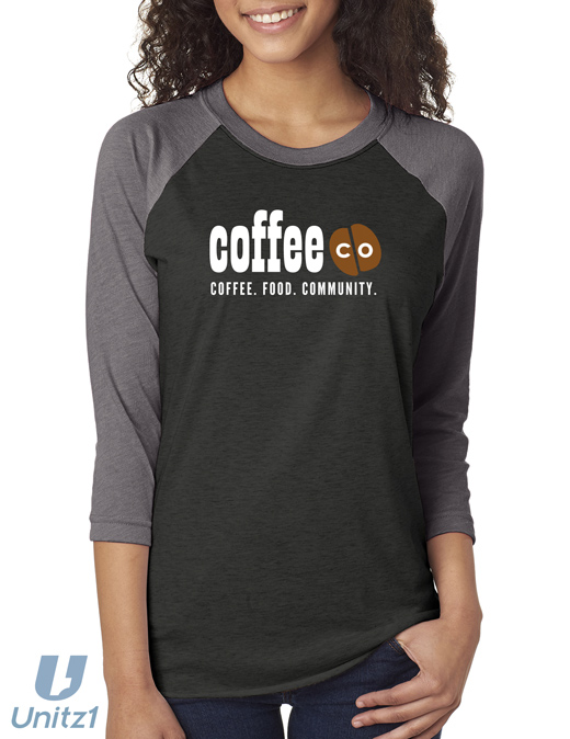Coffee Co Baseball Tee