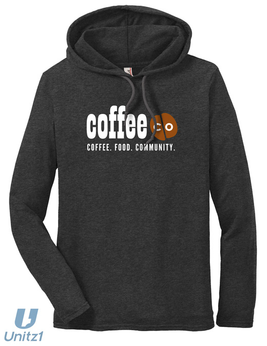 Coffee Co Hooded Long Sleeve