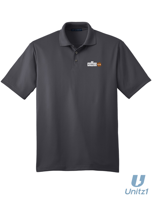 Coffee Co Performance Polo