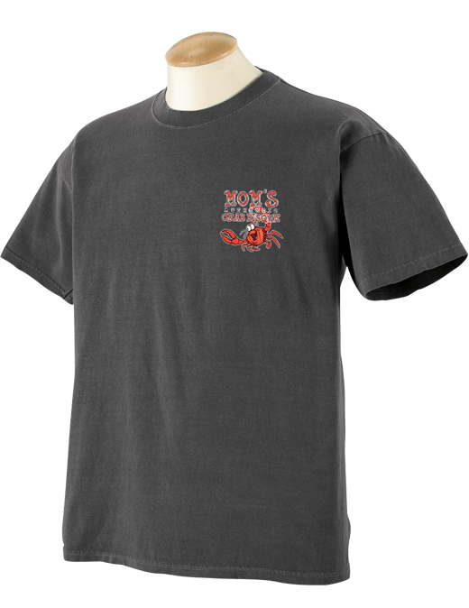 Mom's Crab Bisque Pigment Dyed T-Shirt