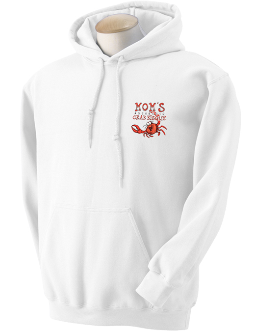 Mom's Crab Bisque Hooded Sweatshirt