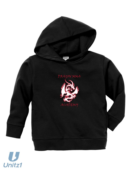 Dragon MMA Toddler Pullover Hood