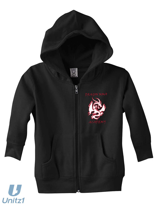Dragon MMA Toddler Full-Zip Hood