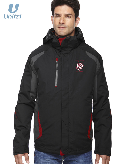 Dragon MMA Men's 3-in-1 Jacket