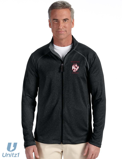 Dragon MMA Men's Tech-Shell Full-Zip Jacket