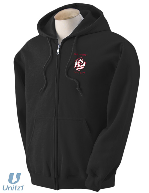 Dragon MMA Full Zip Sweatshirt