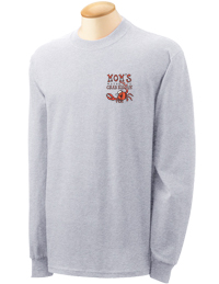 Mom's Crab Bisque Long Sleeve T-shirt