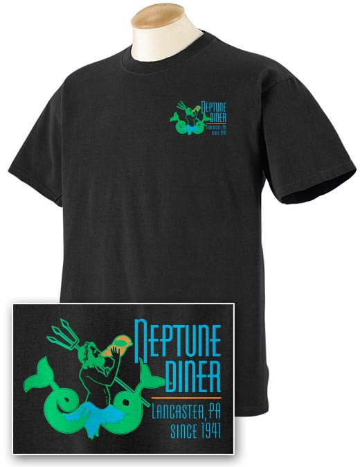 Neptune 2-sided Pigment Dyed T-shirt