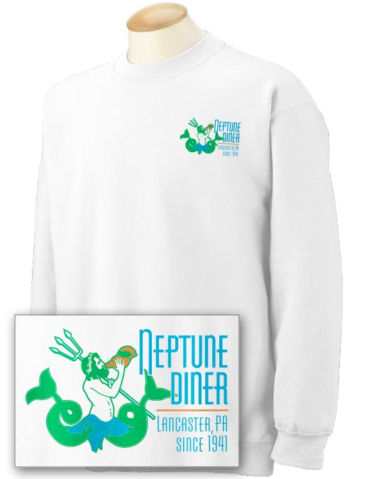 Neptune 2-sided Crewneck Sweatshirt