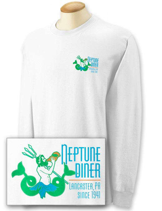 Neptune 2-sided Long Sleeve T-shirt