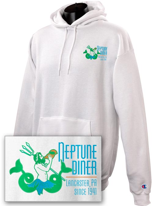 Neptune 2-sided Heavyweight Hoodie