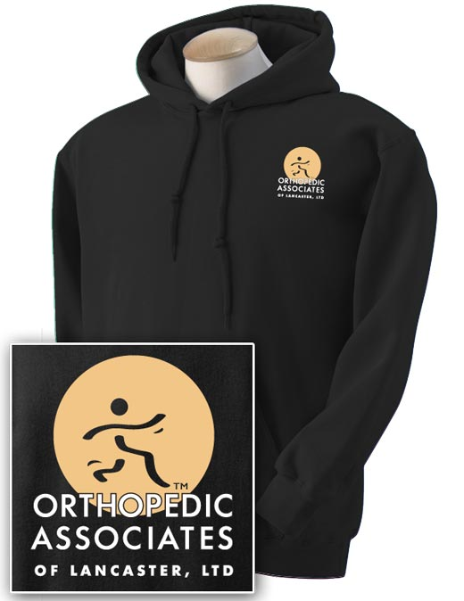 OAL Physical Therapy Hooded Sweatshirt