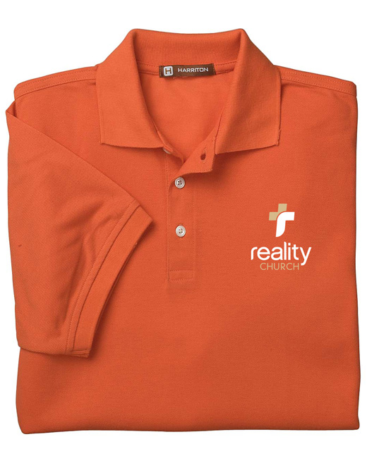 Reality Church Easy Blend Polo