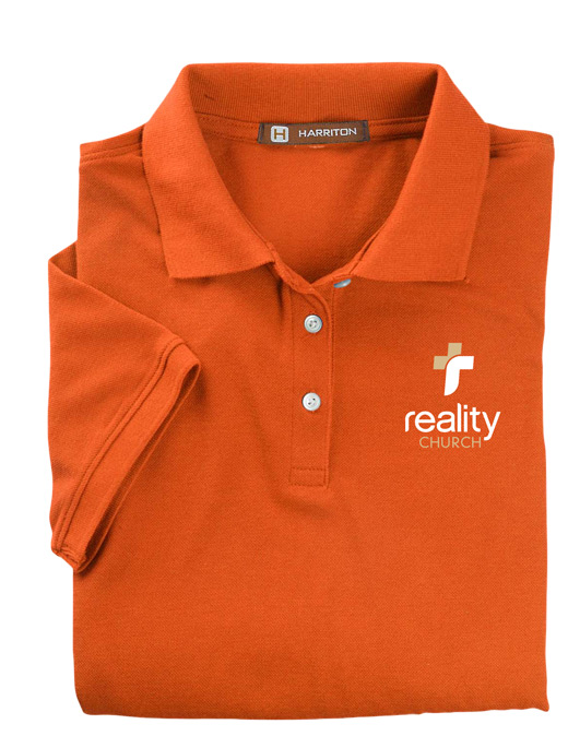 Reality Church Ladies' Easy Blend Polo