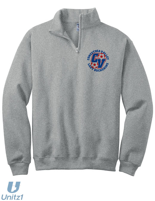 Lady Buckskins Quarter-Zip Sweatshirt