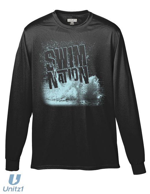 Swim Nation Wicking Long Sleeve Shirt