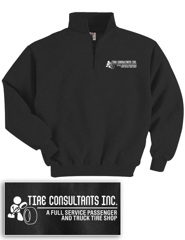 Tire Consultants Quarter-Zip Sweatshirt