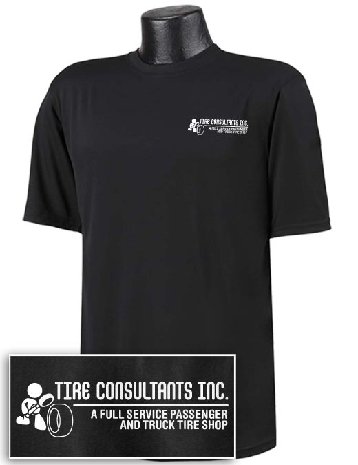 Tire Consultants Double Dry T-shirt