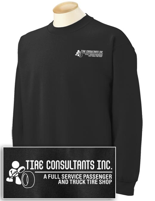 Tire Consultants 2-sided Crewneck Sweatshirt