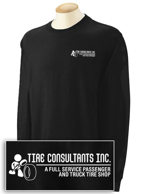 Tire Consultants 2-sided Long Sleeve T-shirt